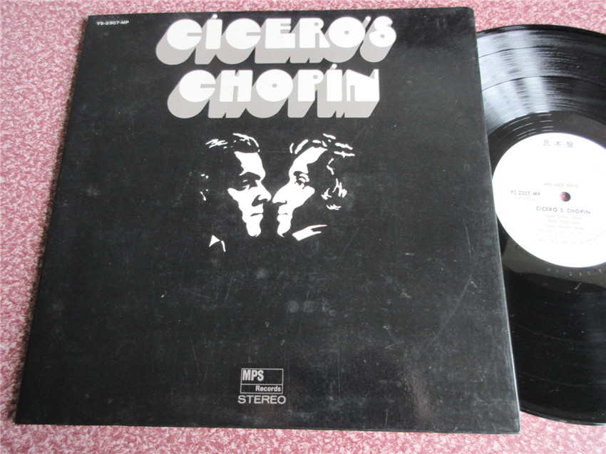 Граммофонная пластинка   Cicero Chopin Mps Jazz Series LP P15433 виниловая пластинка guano apes bel air 2 lp