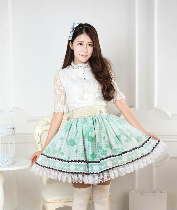 Юбка Princess Story  Lolita SK юбка arw amo amavel fint ank axes april cat lolita sk