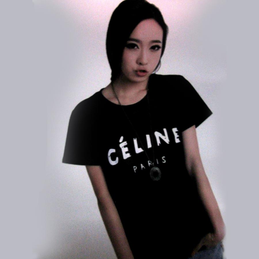 Футболка CELINE Paris футболка ep43013054 inxx eleven paris