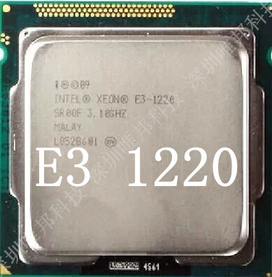 Процессор Intel XEON E3-1220 V1 3.1G LGA1155 E3-1220V2 процессор intel xeon e3 1220 lga1155 cpu