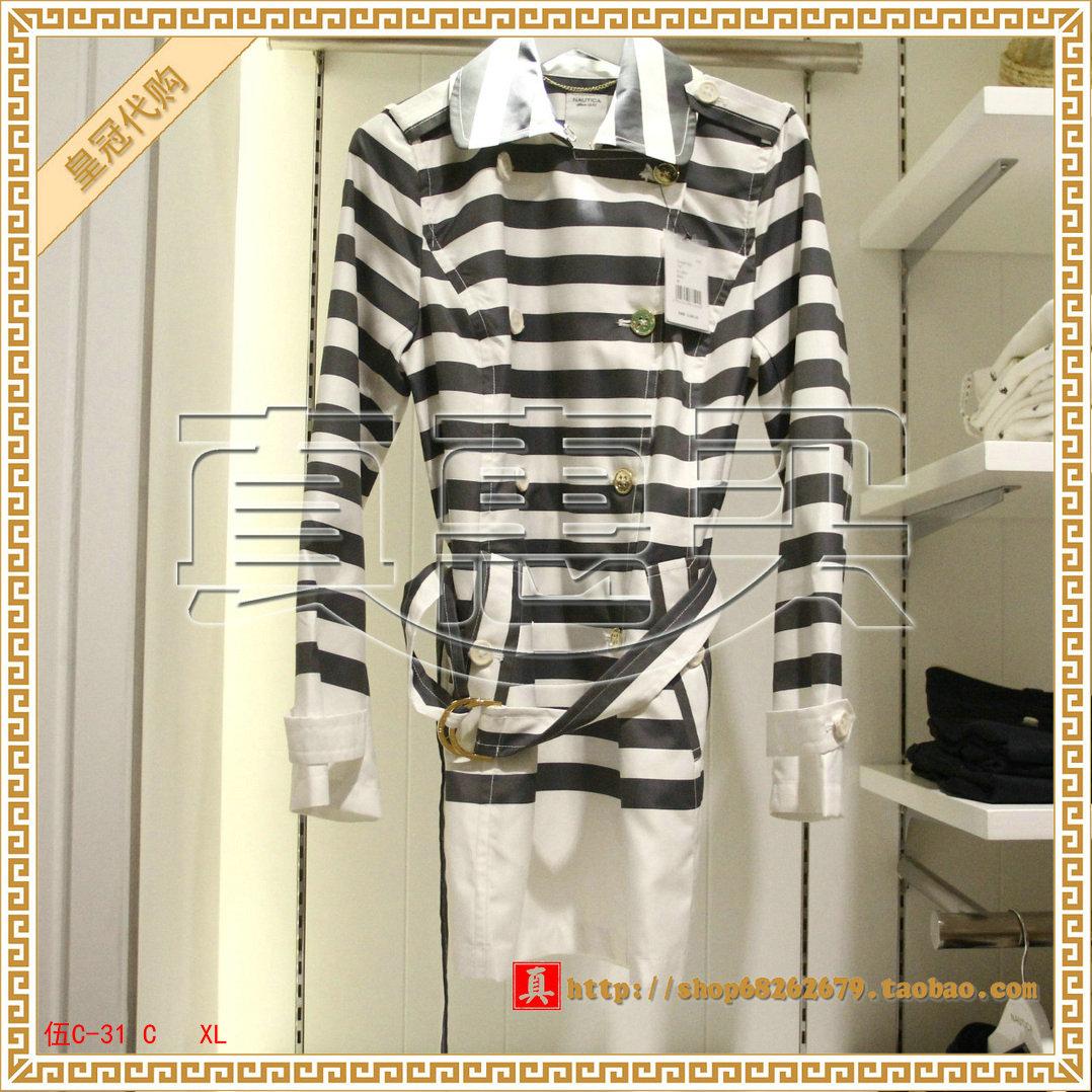 женский плащ Nautica 15 2290 151-51J001-4NV куртка nautica 15 jc51113