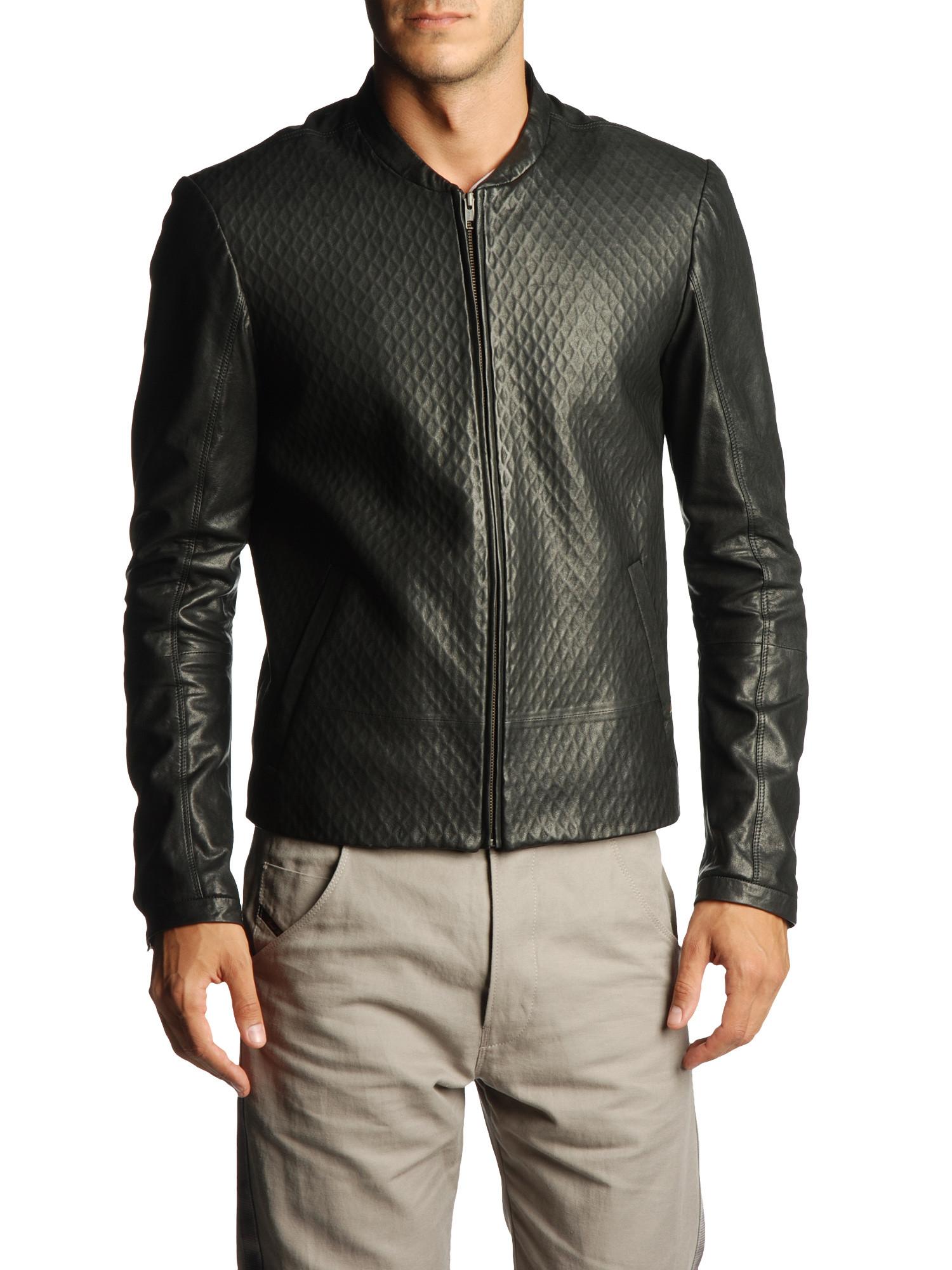 цена Одежда из кожи Diesel  BLAC GOLD LENSI онлайн в 2017 году