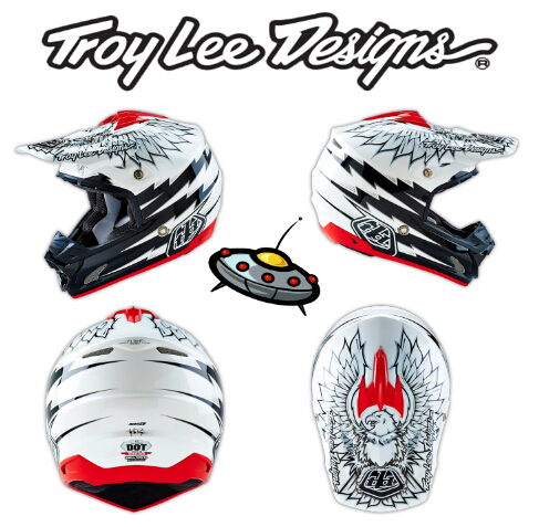 мото шлем Troy Lee Designs  2016 TLD SE3 Flight MX ATV