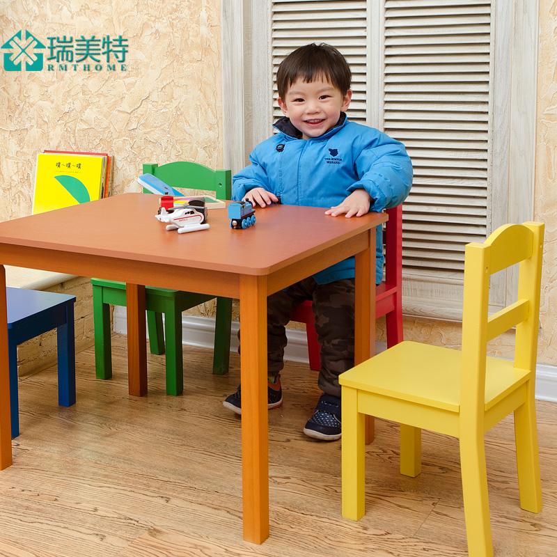 Детский столик со стулом The Rui America Special rm3001 rui chuang qy0202a