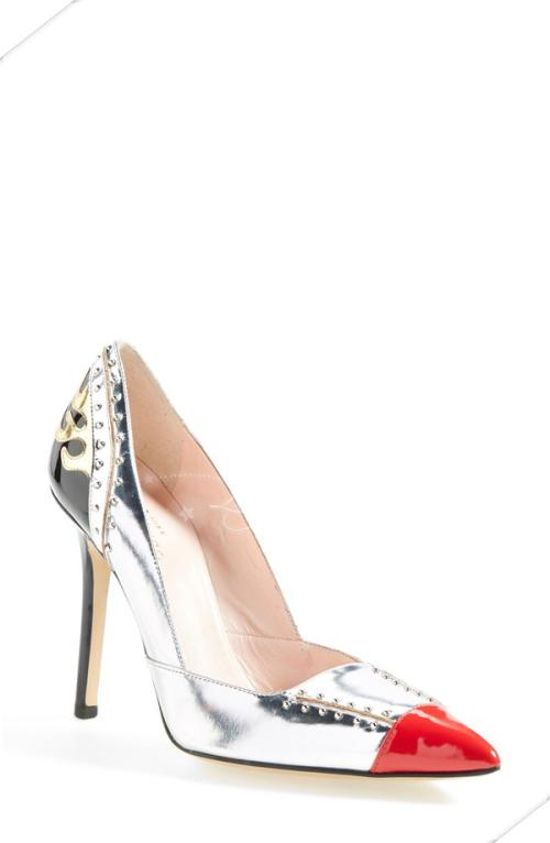 туфли Kate spade new york  'lunar' Pointy Toe сумка kate spade new york kennedy street tizzie