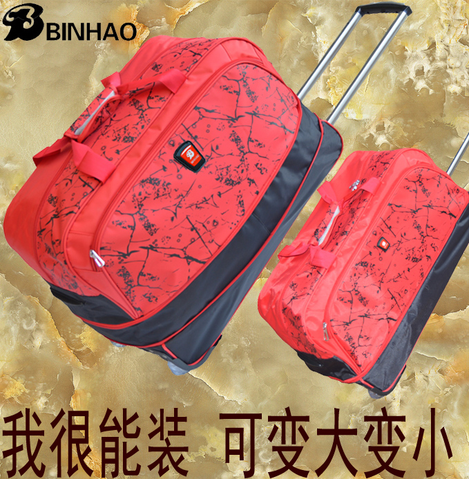 Дорожная сумка Business overnight bag man mobile women's waterproof luggage trolley bag duffel bag bags fashion bag/large baibu high quality waterproof travel trolley backpack luggage bags wheeled carry ons bags large capacity trolley bags for laptop
