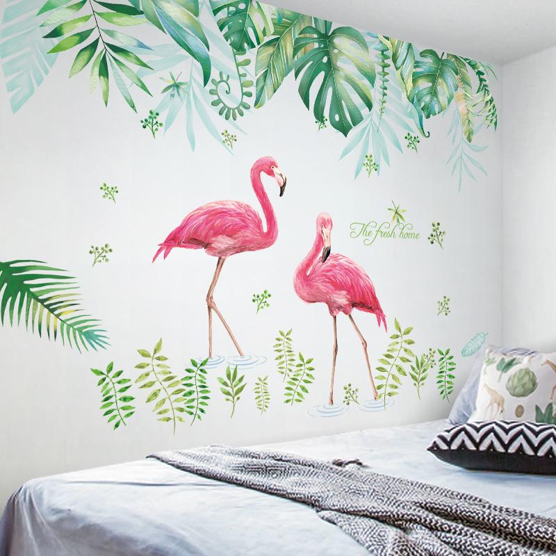 网红墙纸自粘墙贴纸ins少女心房间布置创意卧室温馨小清新装饰品