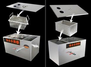 专用厨房过滤器上下滤器油水分离器食用油污水处专用设备外置大型