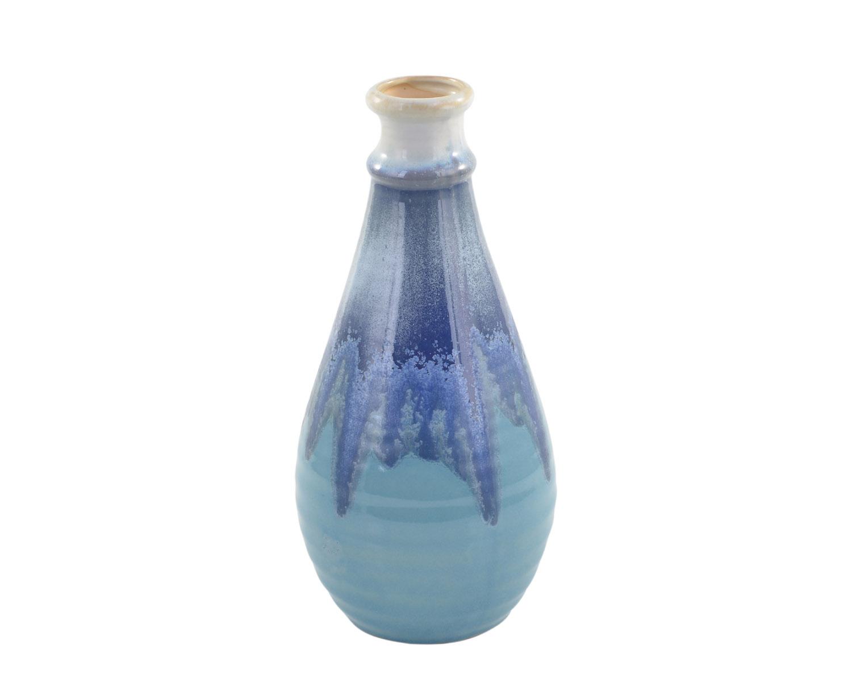 可立特 蓝色陶瓷花瓶CH0132
