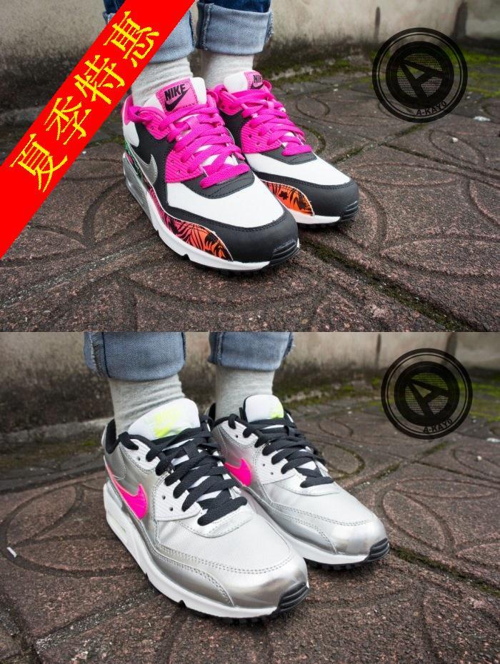 Кроссовки Nike  A-KAY0 AIR MAX 90 PRINT GS 705392 001 704953 001 лодки запчасти аксессуары air kay 6