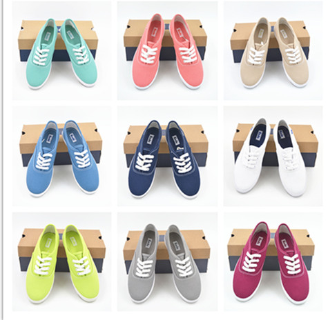 Женские кеды American and European brands Keds 2015 european and american 2017 new lychee grain 100