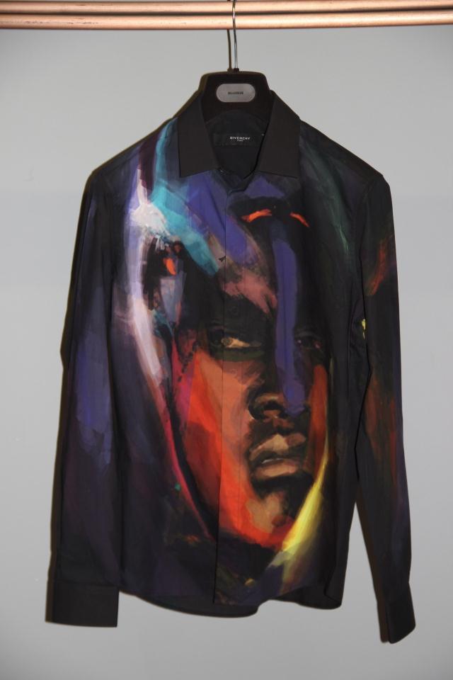 Рубашка мужская GIVENCHY  14 14F6241321 женская рубашка givenchy 15 690