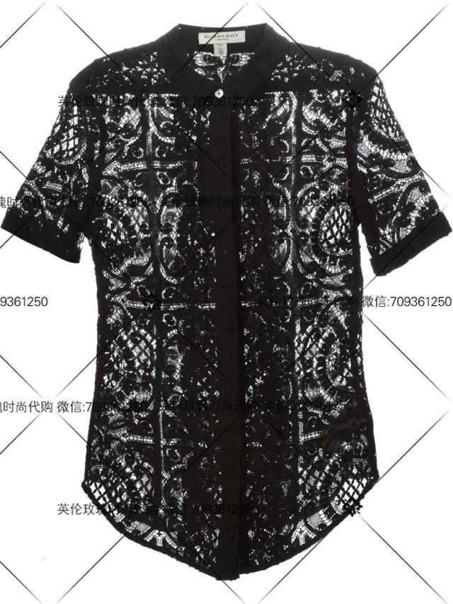 женская рубашка Burberry  39734111/39702981 burberry женская туалетная вода burberry body tender sby014a15 85 мл