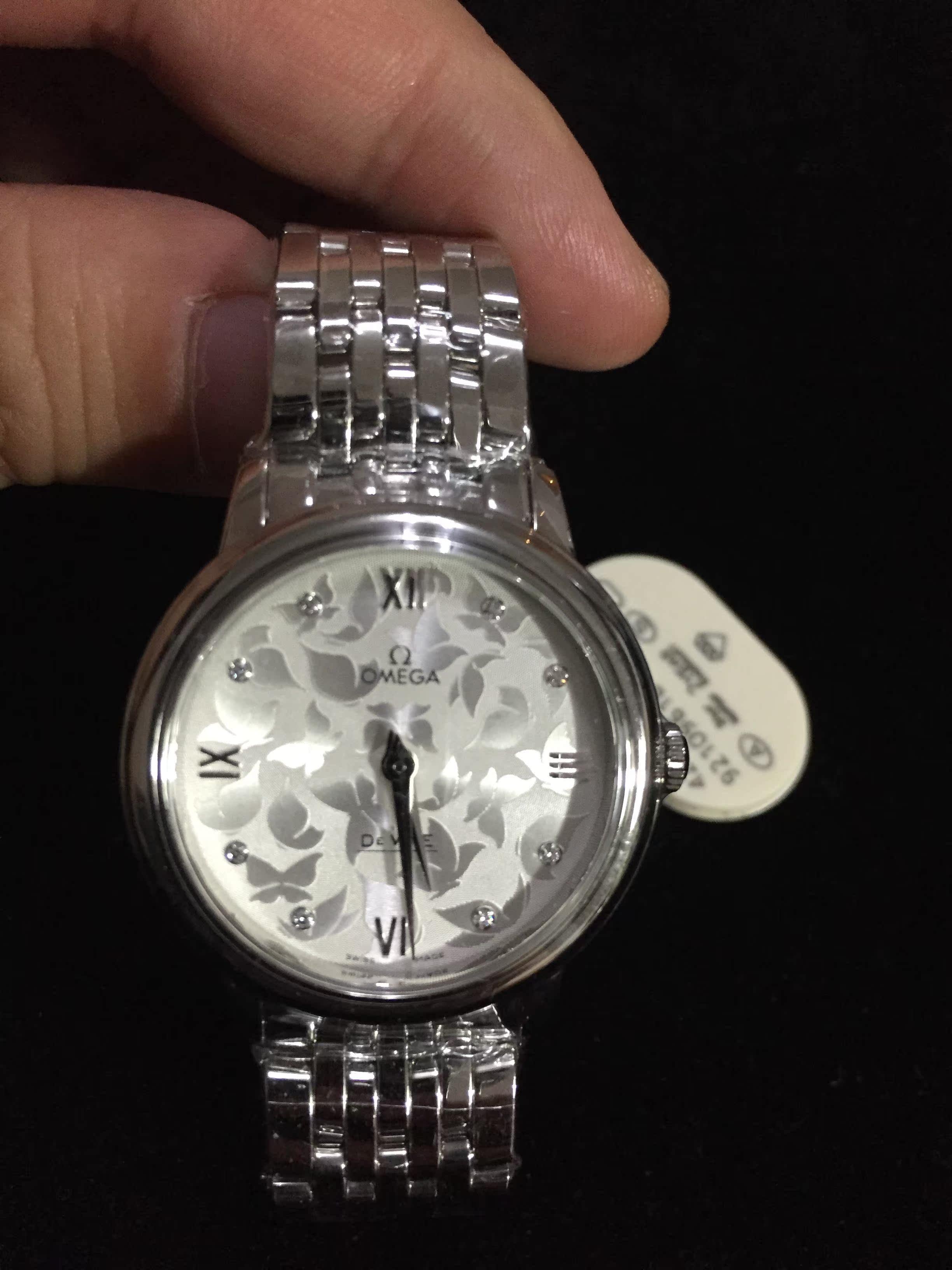Часы Omega 33mm 424.10.33.60.52.001 пылесос iclebo omega white ycr m07 20