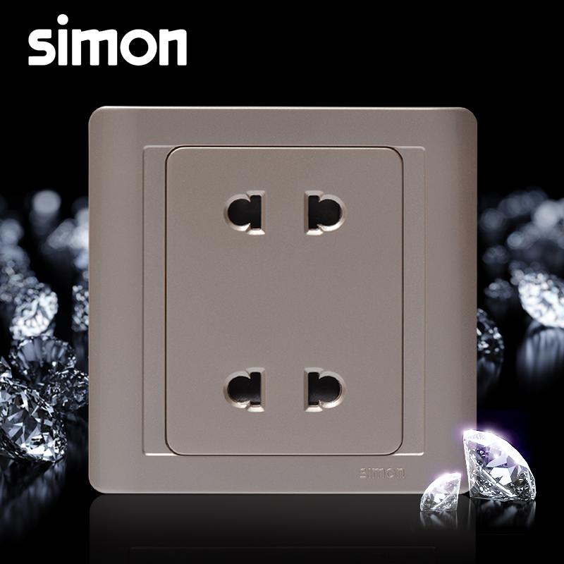 西蒙开关插座面板55系列N51072-56