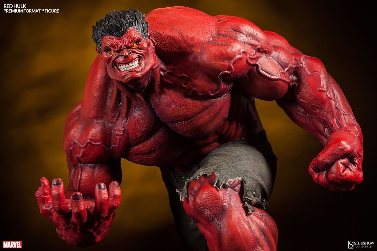 Игрушка-аниме Orchid Seed SIDESHOW ARH Red Hulk hag seed