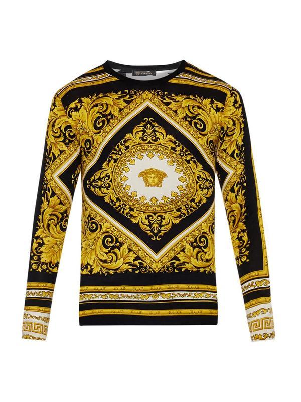 Свитер мужской Versace mf1003093 versace свитер