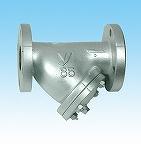 进口日本Y型球墨铸铁过滤器 耀希达凯蒸汽法兰过滤器10KDN324050