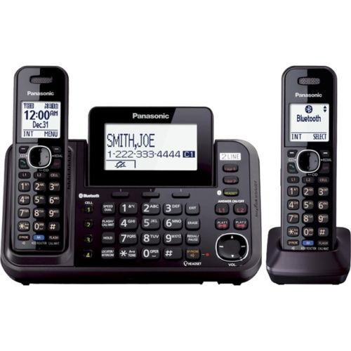 Проводной и DECT-телефон Panasonic KX/tg9542 KX-TG9542B телефон беспроводной dect panasonic kx tpa65rub black