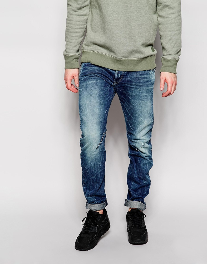 Джинсы мужские G/star raw 575063 GS/G Star 3D рубашка мужская g star raw 574590 gs g star