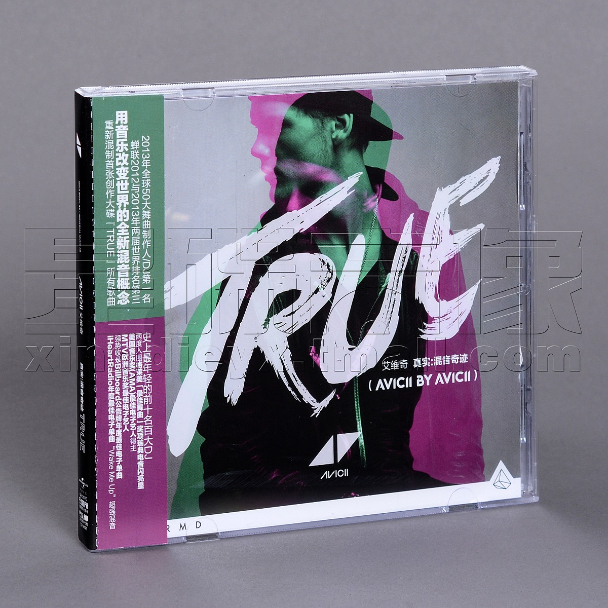 Музыка CD, DVD   DJ Avicii True CD сумка для cd и dvd плеера bubm djm2000 dj dj midi dj
