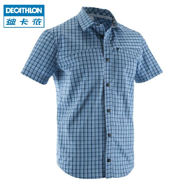 Быстросохнущая футболка Decathlon 1611055 QUECHUA тенты  зонты decathlon 8307602 quechua