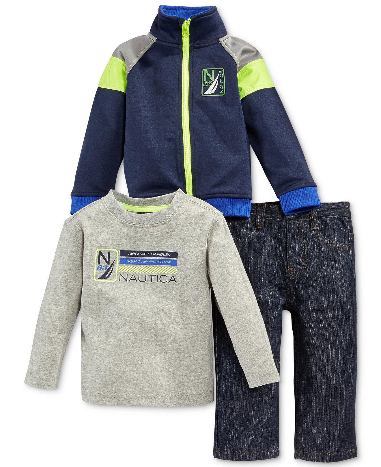 детский костюм Nautica толстовка nautica n3470