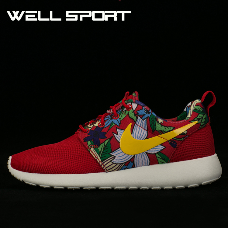 Кроссовки Nike  Well Wmns Roshe Run Print 599432-674