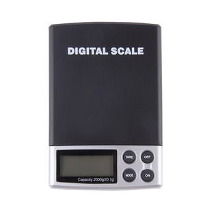 1Pc New Portable Digital Pocket Weighing Balance Scale 2000g