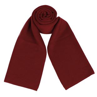 中国红围巾男女同学聚会定做围脖年会活动定制印logo图案刺绣批发