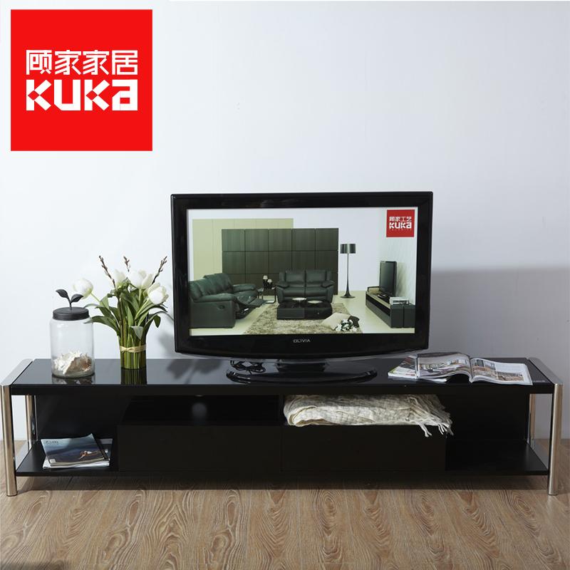 顾家家居钢化玻璃电视柜PT1271GF