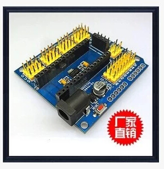 Макетная плата MCU Arduino NANO 328P UNO nano uno shield adapter nano development board for arduino