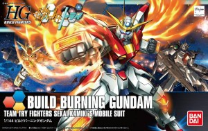 Игрушки из сериалов Gundam Bandai 93230 HGBF 018 1/144 BUILD BURNING bandai hobby 03 hgbf gundam x maoh model kit 1 144 scale