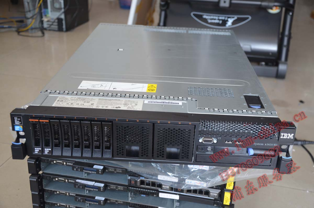 Сервер IBM  X3650M3 16 XEON L5520*2/16G/73G 2U сервер ibm с гарантией купить