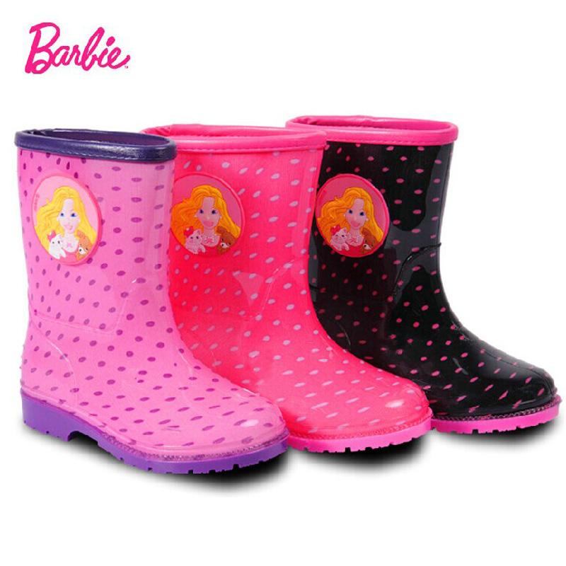 Резиновые сапоги Barbie barbie barbie балетки резиновые с ремешком белые