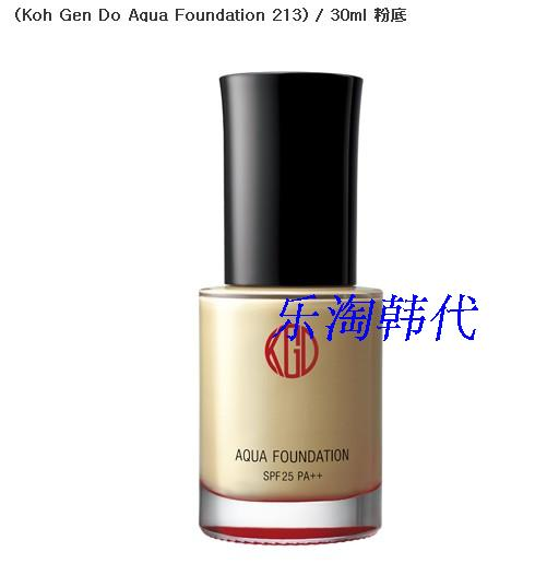 Жидкость/сливки Koh Gen do Aqua Foundation 213) 30ml жидкость сливки koh gen do aqua foundation 213 30ml