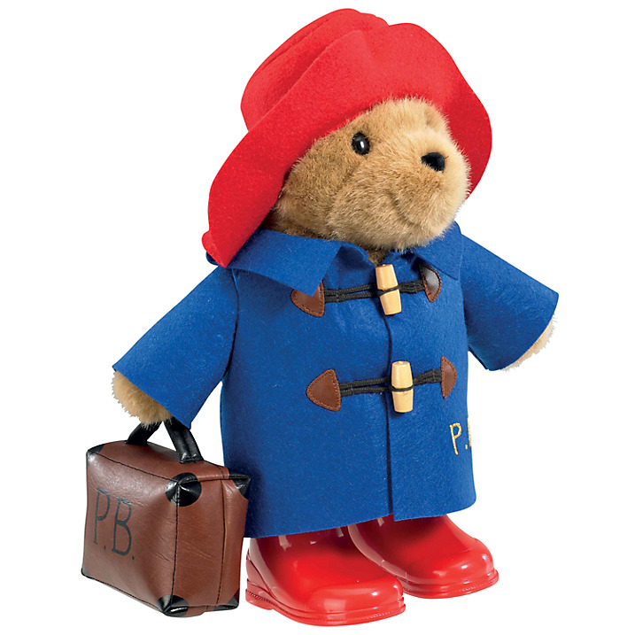 Мягкая игрушка Paddington Bear paddington at work