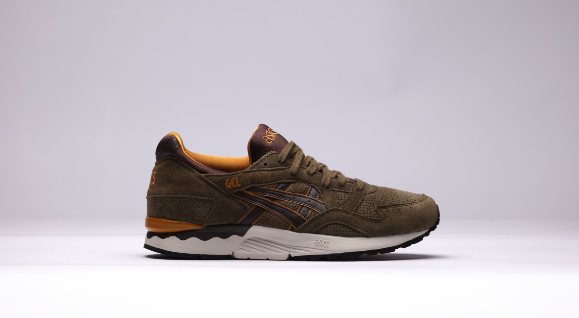 Кроссовки Asics  GEL LYTE DARK OLIVE H507L-8662 asics gel volley elite 2