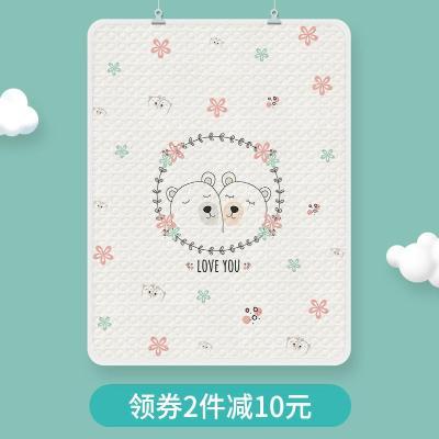 婴儿隔尿垫防水可洗纯棉超大夏天A透气宝宝大号儿童床垫隔夜可水