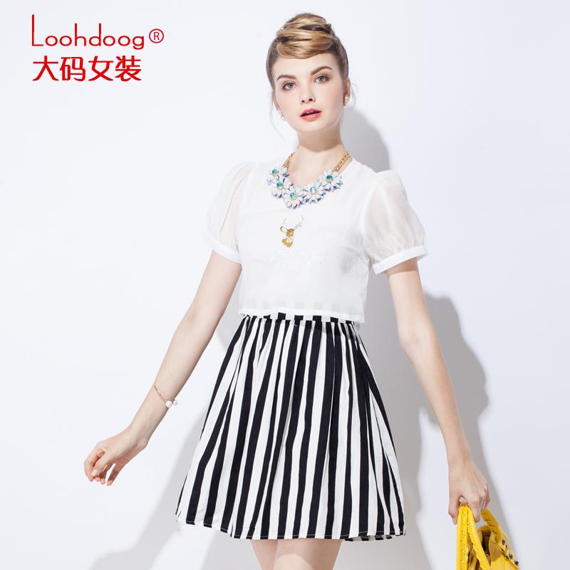 Одежда Больших размеров Loohdoog 522 330905 MM2015 0905