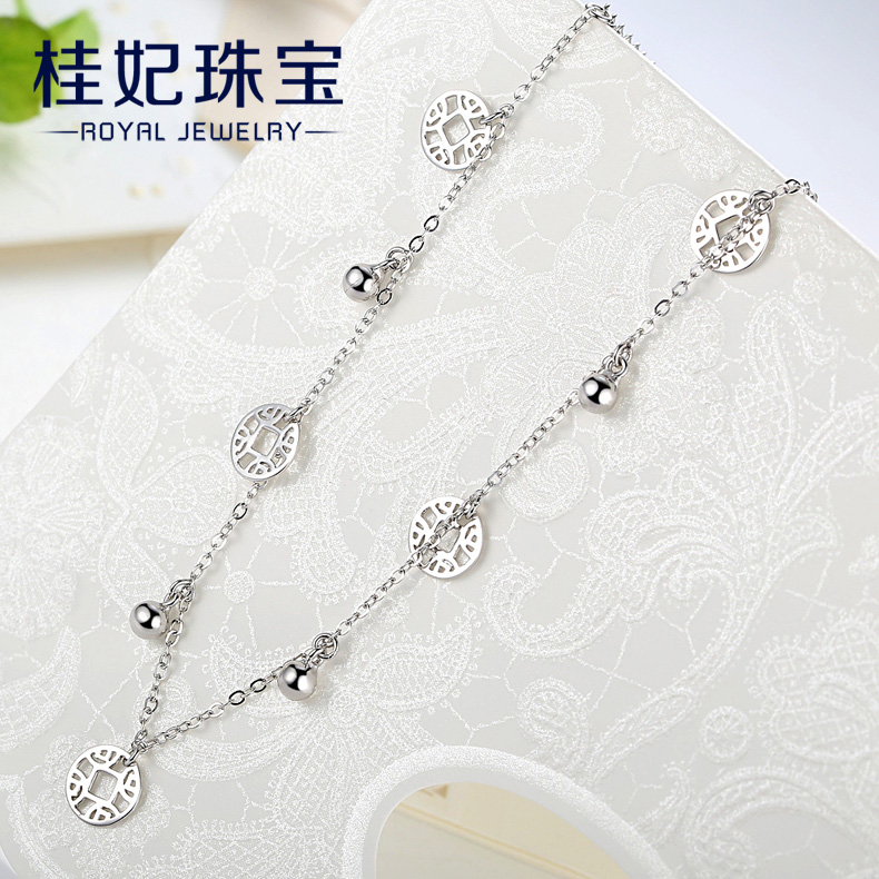 Цепочка на ногу Old Chinese silver floor jl0003 S925