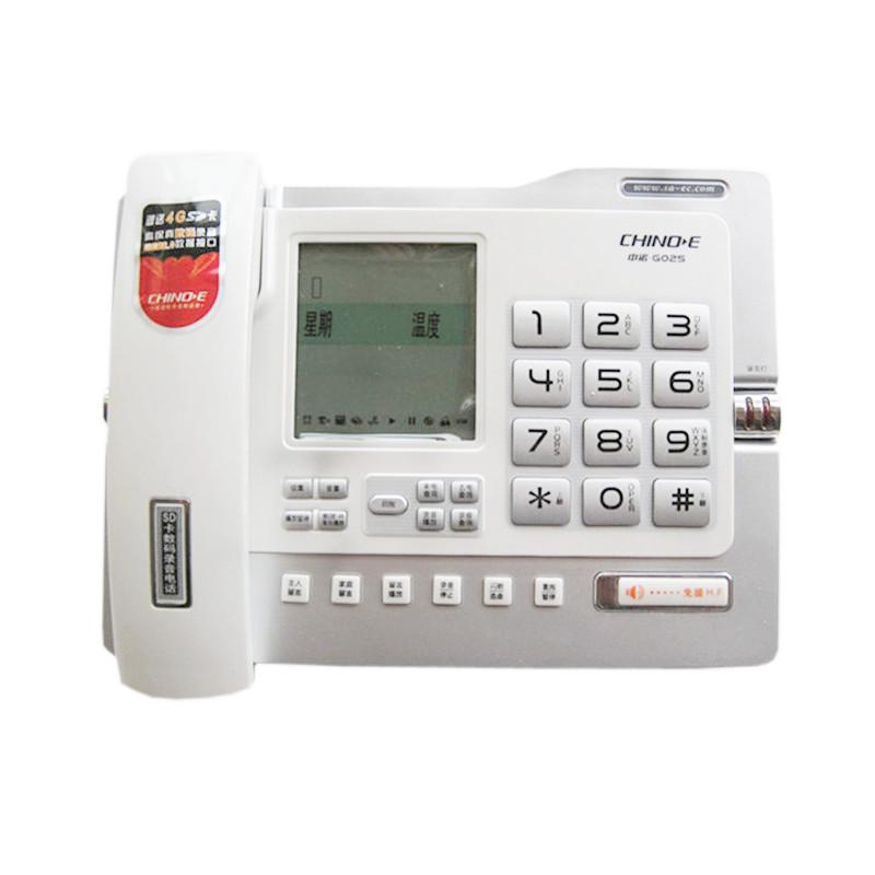 Проводной и DECT-телефон Chino e G025 SD met chino