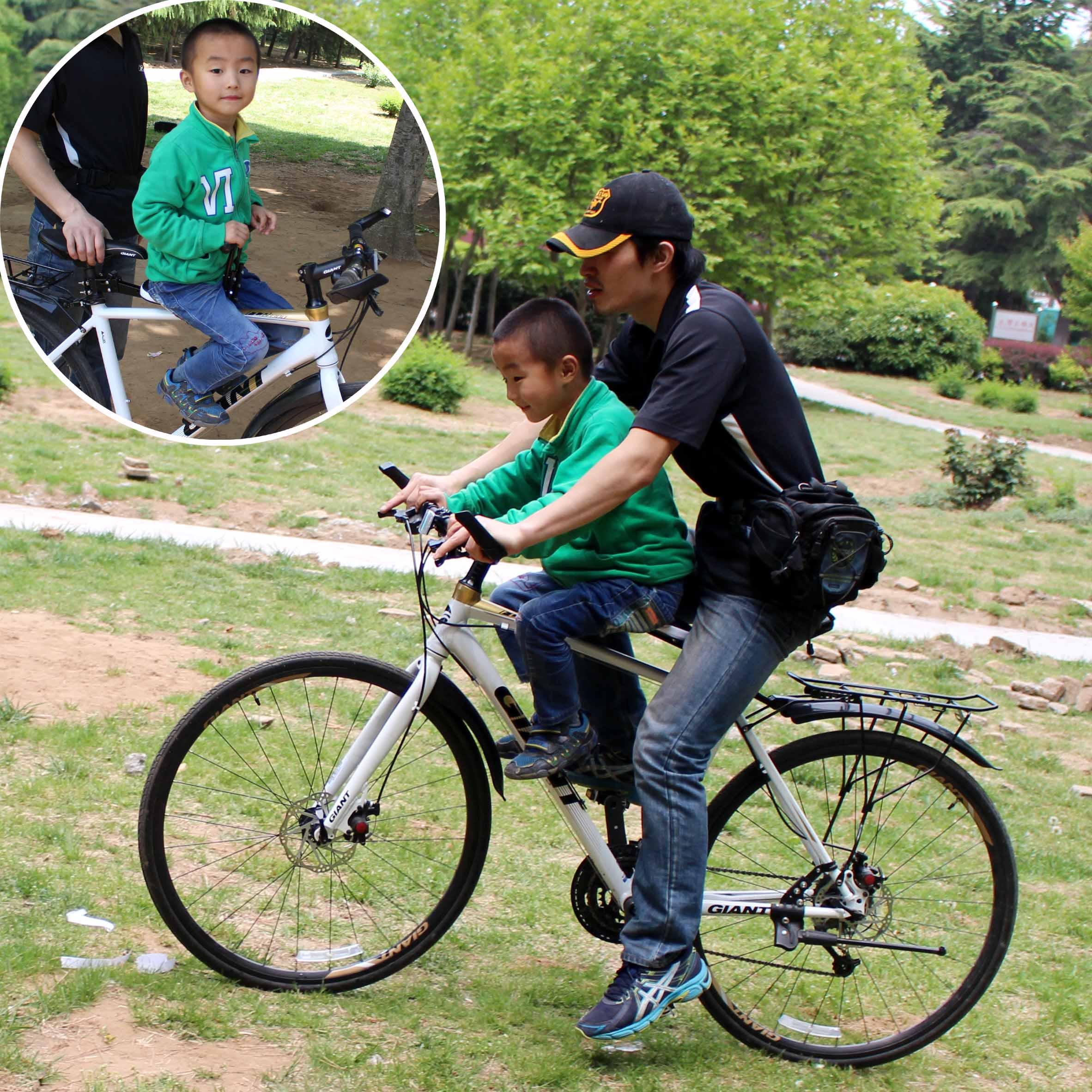 Сиденье для перевозки ребенка на велосипеде своими руками