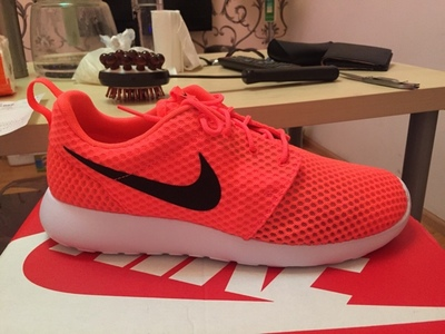 кроссовки Nike 2015 ROSHE ONE 718552-410 010 801 011 original new arrival nike roshe one hyp br men s running shoes low top sneakers