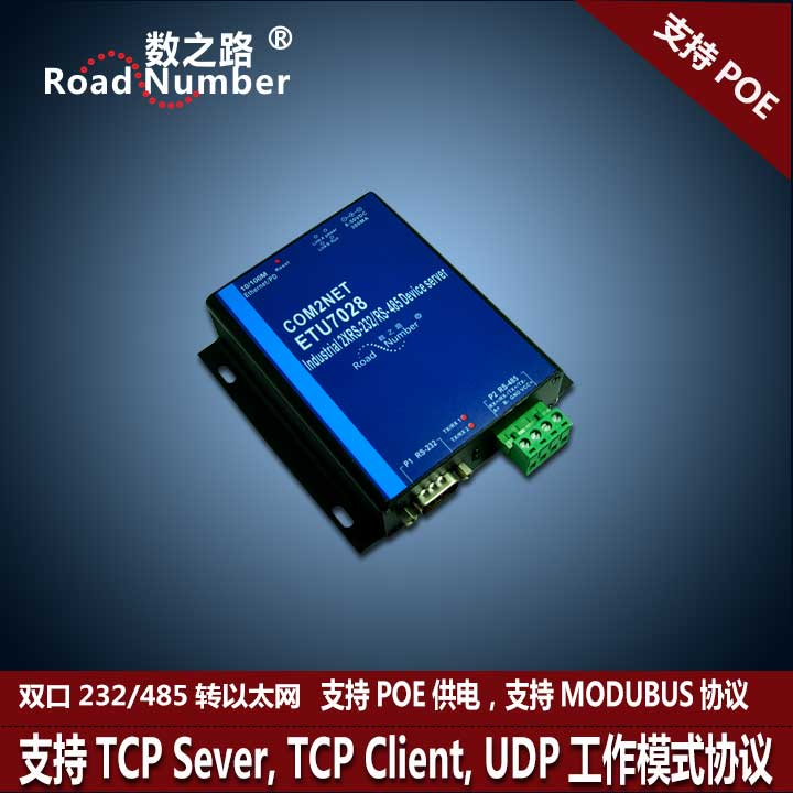 Сетевой маршрутизатор The number of the road  RS232/485 RJ45