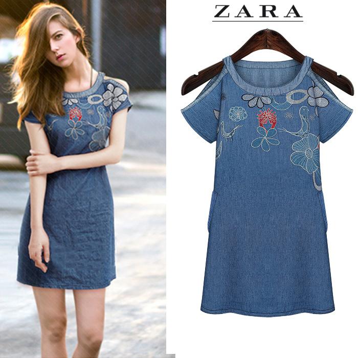Женское платье ZARA 8079 2015 женское платье zara 2015