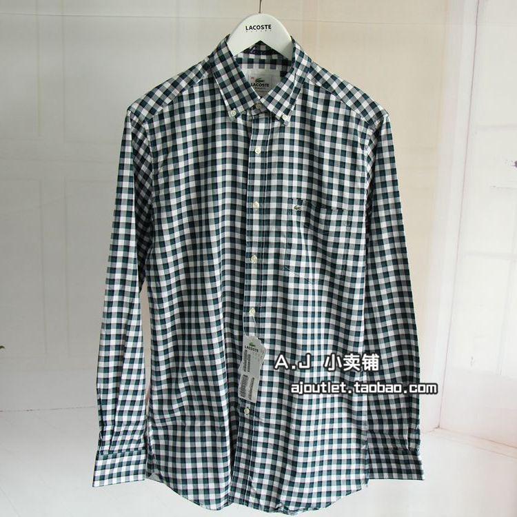 Рубашка мужская Lacoste  719297 рубашка lacoste рубашка