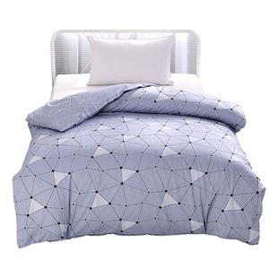 被套学生宿舍 单人男生寝室简约全棉单套纯棉被罩150x200被套单件