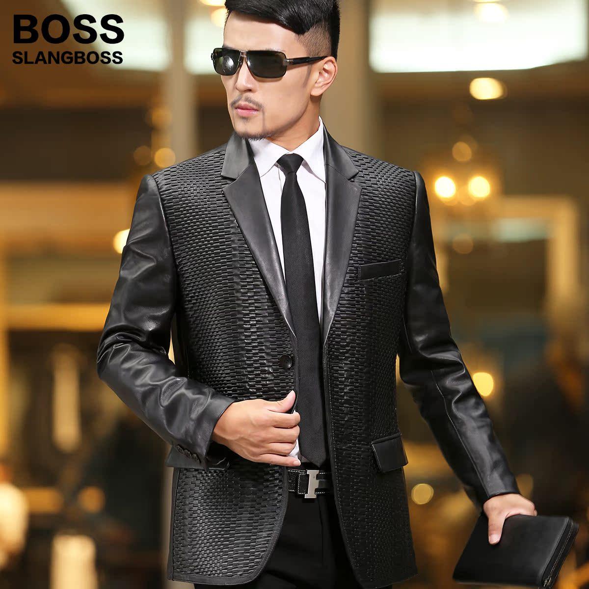 Одежда из кожи Boss 2014