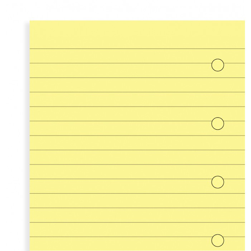 notebook Delphi to Shi Filofax Yellow Ruled Notepaper Mini delphi конфитюр апельсиновый v halvatzis 370 г
